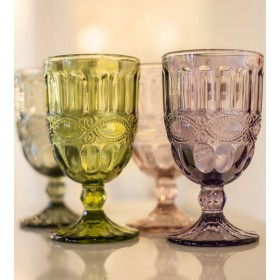 Бокал для вина Solange 350 мл, цвет оливково-зеленый