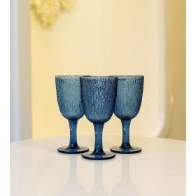 Набор бокалов Glass Blue 250 мл, 3 шт