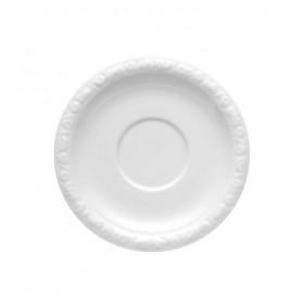 Блюдце для чашки суповой/для завтрака Maria White 18 см