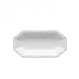 Блюдо для солений овальное Maria White 25,5 см