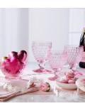 Бокал для вина Boston 310 мл, цвет розовый