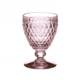 Бокал для воды Boston 400 мл, цвет розовый