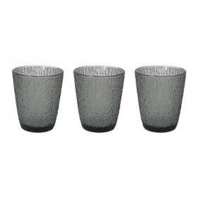 Набор стаканов Glass Grigio 280 мл, 3 шт