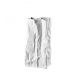 Ваза Bag White-mat 22 см