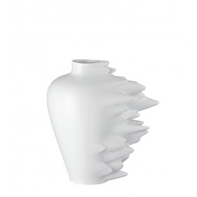 Ваза Fast белая 30 см