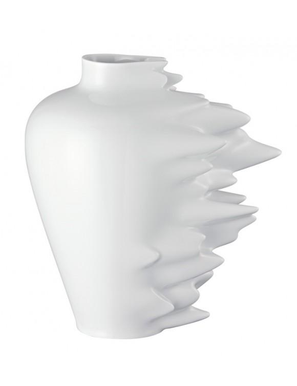 Ваза Fast 30 см, цвет белый