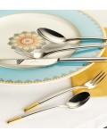 Набор столовых приборов Ella Gold plated 24 предмета