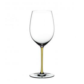 Бокал для вина Cabernet/Merlot Fatto a Mano желтый