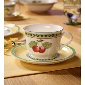 Блюдце для чашки для завтрака French Garden Fleurence 17 см