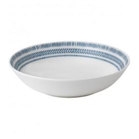 Тарелка для пасты Ellen DeGeneres Blue Story 24 см