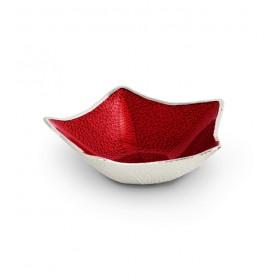 Чаша декоративная Stella Red 22х7 см