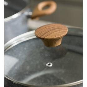 Крышка прозрачная Stone & Wood 24 см
