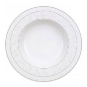 Тарелка глубокая Gray Pearl 24 см