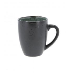 Кружка Bitz 300 мл, цвет чёрный/зелёный