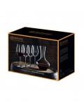 Набор бокалов с декантером 1,8 л для красного вина Vivendi