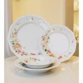 Тарелка столовая Maria Pink Rose 26 см