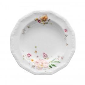 Тарелка глубокая Maria Pink Rose 23 см