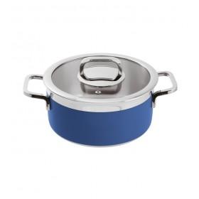 Кастрюля с крышкой Buffet Life Cooking 3,1 л, синяя
