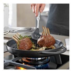 Сковорода-гриль круглая с двумя ручками Grills 26 см, черная