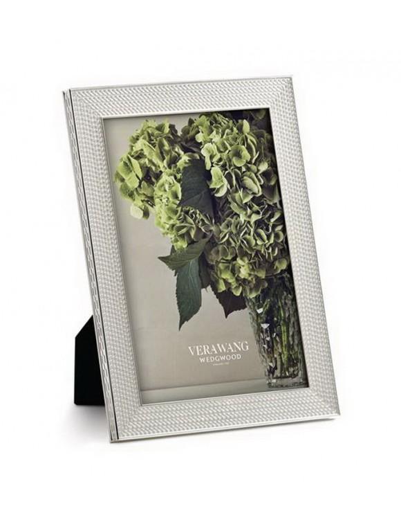Рамка для фотографий Vera Wang With Love Nouveau Silver 10х15 см