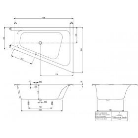 Ванна Loop & Friends UBA175LFS9REV-01
