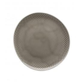 Тарелка салатная Junto Pearl Grey 22 см