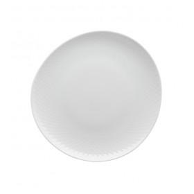 Тарелка салатная Junto White 22 см