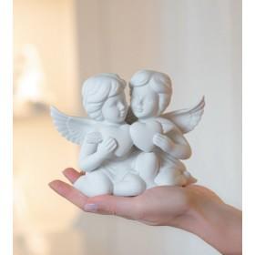 """Фигурка """"Два ангела с сердцем"""" 11 см"""