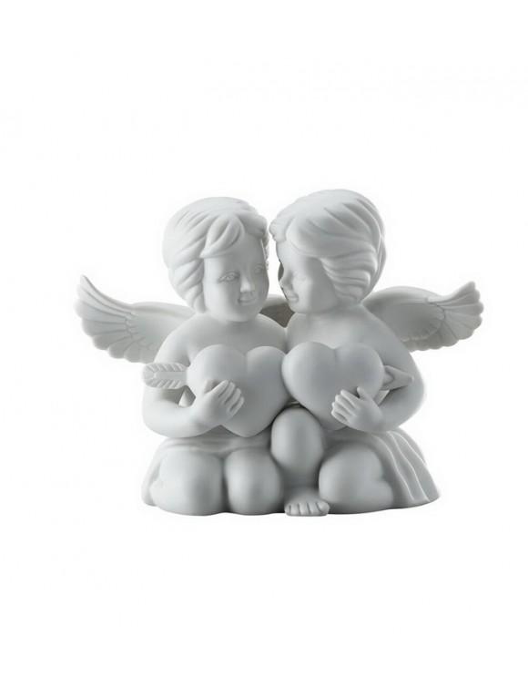 """Фигурка """"Два ангела с сердцем"""" 14,5 см"""