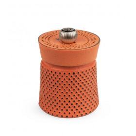 Мельница для перца Bali Fonte 8 см, оранжевая