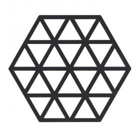 Подставка под горячее Triangles Black, 14x16 см.