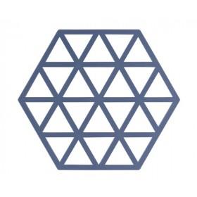 Подставка под горячее Denim Triangles 14х16 см