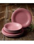 Набор столовой посуды Color Loop Rose на 4 персоны, 8 предметов