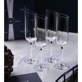 Набор бокалов для шампанского NewMoon 170 мл, 4 шт