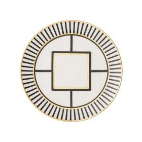 Тарелка салатная MetroChic 22 см