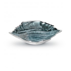 "Чаша ""Ракушка"" 29х24х6 см, цвет голубой"