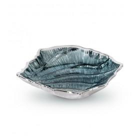 "Чаша ""Ракушка"" 21х18х5 см, цвет голубой"