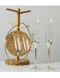 Набор бокалов для шампанского Vera Wang Love Knots, 2 шт