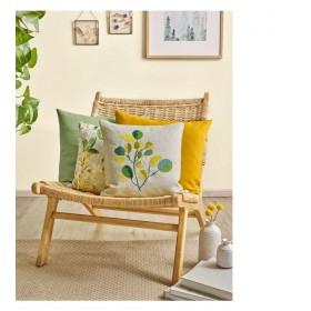 Чехол для подушки декоративной Globulus 40x40см (цвет желтый)