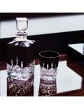 Набор бокалов для виски Lismore Black Double Crystal Old Fashioned, 2 шт