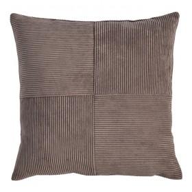 Чехол для подушки декоративной Count 40x40 см, коричневый