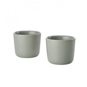 Набор термокружек Singles 200 мл., цвет серый