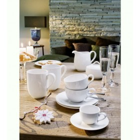 Блюдце для чашки для завтрака New Cottage Basic 19 см