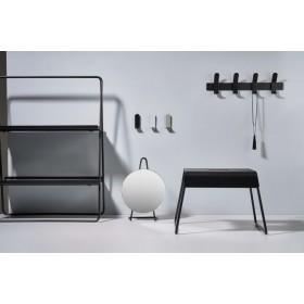 Подставка-ступенька напольная A Collection 39х30х27,5 см, цвет чёрный