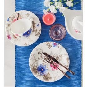Тарелка салатная Mariefleur Gris Basic 21 см