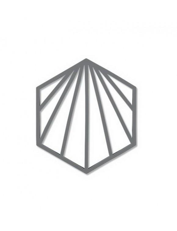 Подставка под горячее Trivet Shell 16х14 см, цвет серый