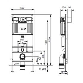 Комплект крепежных элементов TECEprofil 9380300