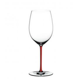 Бокал для вина Cabernet/Merlot Fatto a Mano красный