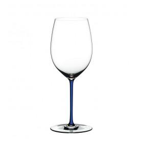 Бокал для вина Cabernet/Merlot Fatto a Mano синий