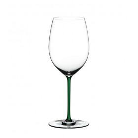 Бокал для вина Cabernet/Merlot Fatto a Mano зеленый